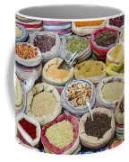 Mixed Spices In Market Of Cairo Egypt Coffee Mug