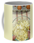 Mixing Egg Salad Ingredients Coffee Mug