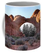 Moab Snow Globe Coffee Mug