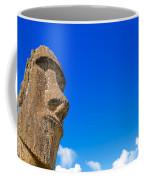 Moai And Blue Sky Coffee Mug