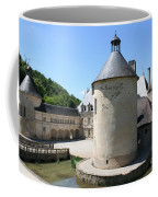 Moated Castle - Bussy Rabutin - Burgundy Coffee Mug
