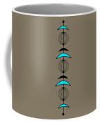 Mobile 3 In Turquoise Coffee Mug
