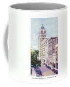 Mobile Alabama - North On St. Joseph Street - Merchants National Bank - 1937 Coffee Mug