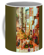 Mocca On Maiden Lane Coffee Mug by Bill Gallagher