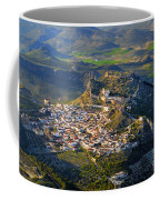 Moclin Castle From The Air Coffee Mug