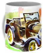 Model A In September Sunshine Coffee Mug