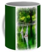 Model Boat Basin Central Park Coffee Mug