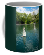 Model Boats On Conservatory Water Central Park Coffee Mug