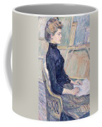 Model In Study  Coffee Mug