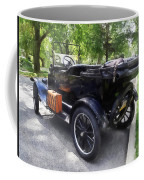 Model T With Luggage Rack Coffee Mug