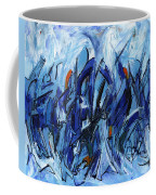 Modern Art Eleven Coffee Mug