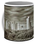 Modern Buenos Aires Black And White Coffee Mug