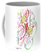 Modern Drawing Fifty-three Coffee Mug