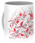 Modern Drawing Ninety-five Coffee Mug