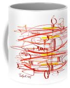 Modern Drawing Seventy Coffee Mug