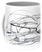 Modern Drawing Seventy-six Coffee Mug