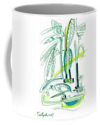 Modern Drawing Sixty-four Coffee Mug