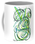 Modern Drawing Sixty Coffee Mug