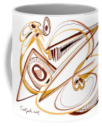 Modern Drawing Twenty Coffee Mug