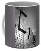 Modern Glass Building Coffee Mug