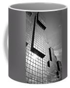 Modern Glass Building Coffee Mug
