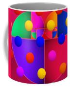 Modern Rain Coffee Mug
