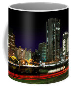 Modern Sao Paulo Skyline Near Brooklin District And Stayed Bridge Coffee Mug