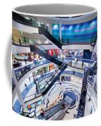 Modern Shopping Mall Interior Coffee Mug