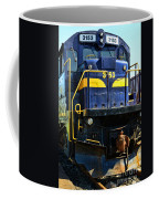 Modern Train Engine Coffee Mug