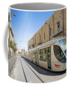 Modern Tram In Jerusalem Israel Coffee Mug