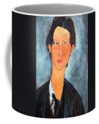 Modigliani's Chaim Soutine Up Close Coffee Mug