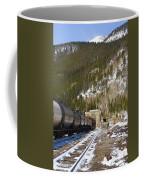 Moffat Tunnel East Portal At The Continental Divide In Colorado Coffee Mug