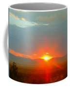Mohave Sunset In Golden Valley Coffee Mug