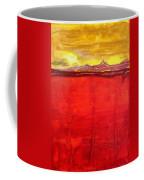 Mojave Dawn Original Painting Coffee Mug