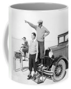 Mojave Desert Golf Course Coffee Mug