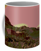 Mojave Desert In Mauve Coffee Mug