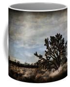 Mojave Desert Joshua Tree In Cima Coffee Mug