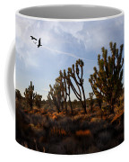Mojave Desert Joshua Tree With Ravens Coffee Mug