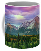 Molas Pass Sunset Panorama Coffee Mug
