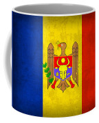 Moldova Flag Vintage Distressed Finish Coffee Mug