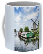 Molen Van Sloten And River Coffee Mug