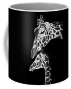 Mom And Baby Giraffe  Coffee Mug by Adam Romanowicz
