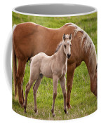 Mom And Foal Coffee Mug