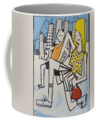 Mom And Son In Montreal Coffee Mug