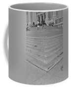 Moma Stairs In Black And White Coffee Mug