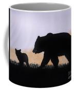 Momma Bear And Cub Coffee Mug