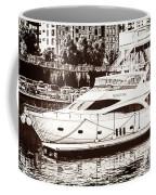 Momousse Yacht In Montreal Coffee Mug
