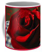 Mom's Red Rose Happy Birthday Wife Coffee Mug