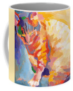Mona Lisa's Rainbow Coffee Mug by Kimberly Santini