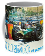 Monaco F1 Grand Prix 1968 Coffee Mug